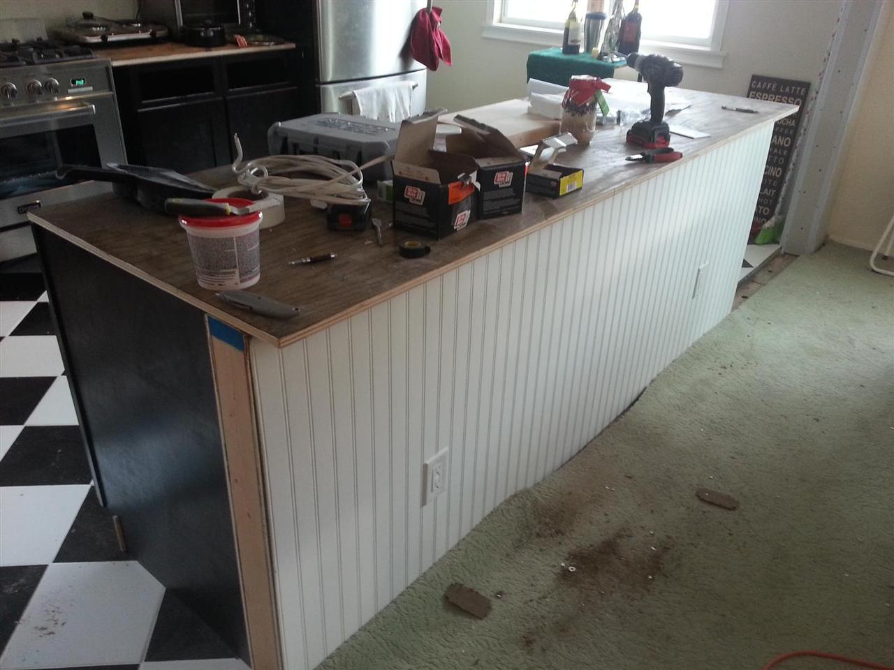 ^ BD renovations - Kitchen enovation Part 2