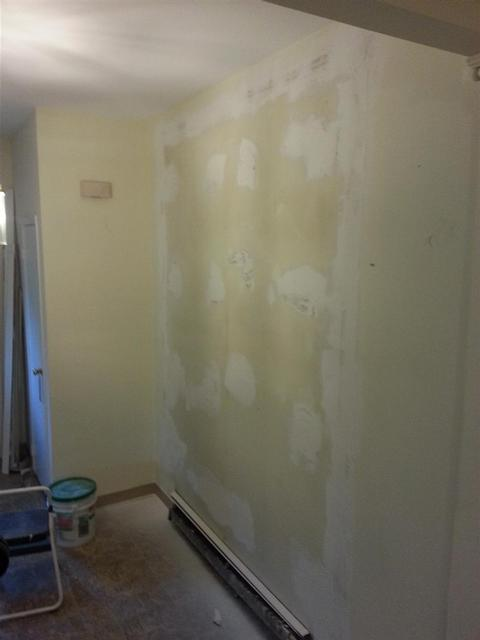65:  Some spackle work has things shaping up nicely.